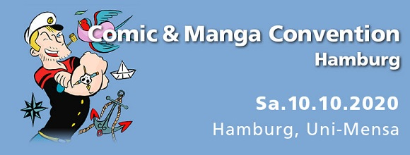 COMIC BÜRO auf der Comic und Manga Convention 2020